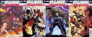 ONSLAUGHT UNLEASHED  1-4 Secret Avengers & Young Allies COMICS BOOK