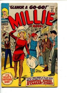 MILLIE THE MODEL #153-1967-CARNABY STREET-FASHION-OGDEN WHITNEY-vf+