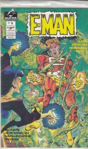 E-Man (5th Series) #1A (in bag) VF/NM; Alpha | save on shipping - details inside