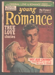 Young Romance #28 1950-Prize-'Hot Rod Crowd by Simon & Kirby story art-hot r...