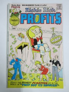 RICHIE RICH PROFITS #8 (Harvey, 12/1975) FINE (F)