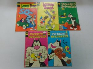 Whitman Looney Tunes comic lot 9 different issues 4.0 VG or better
