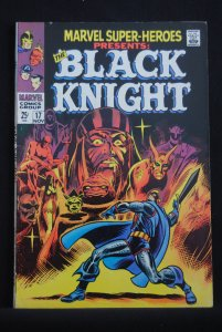 Marvel Super-Heroes, presents the Black Knight. Origin issue. Hot!