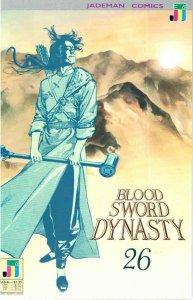 Blood Sword Dynasty #26 VF/NM; Jademan | save on shipping - details inside