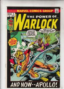 Warlock, the Power of  #3 (Dec-72) NM- High-Grade Adam Warlock