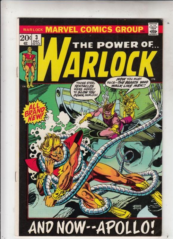 Warlock, the Power of  #3 (Dec-72) NM- High-Grade Adam Warlock