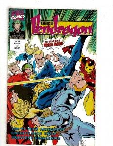 Knights of Pendragon (UK) #3 (1992) YY4