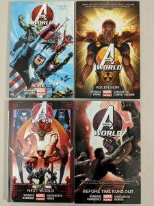 Avengers World 1-4 (1,2,3,4) Paperback Jonathan Hickman Nick Spencer 2014-2015
