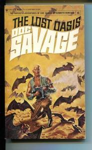 DOC SAVAGE-THE LOST OASIS-#6-ROBESON-VG-COVER DOUG ROSA-2ND EDITION VG