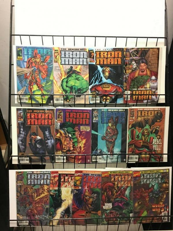 IRON MAN (1996) 1-13  complete series!