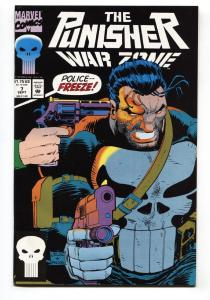 Punisher War Zone #7 1st appearance of LYNN MICHEALS LADY PUNISHER