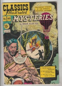 Classics Illustrated #40 (Sep-50) VF+ Affordable-Grade