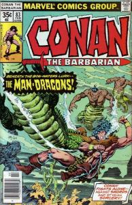 Conan the Barbarian #83 VF; Marvel   save on shipping - details inside