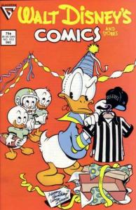 Walt Disney's Comics and Stories #513, VF- (Stock photo)