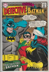 Detective Comics #363 (May-67) FN/VF+ High-Grade Batman