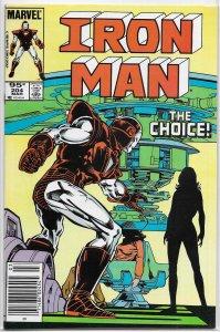 Iron Man   vol. 1  #204 (pv) FN