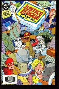 Justice League Europe #21 (1990)