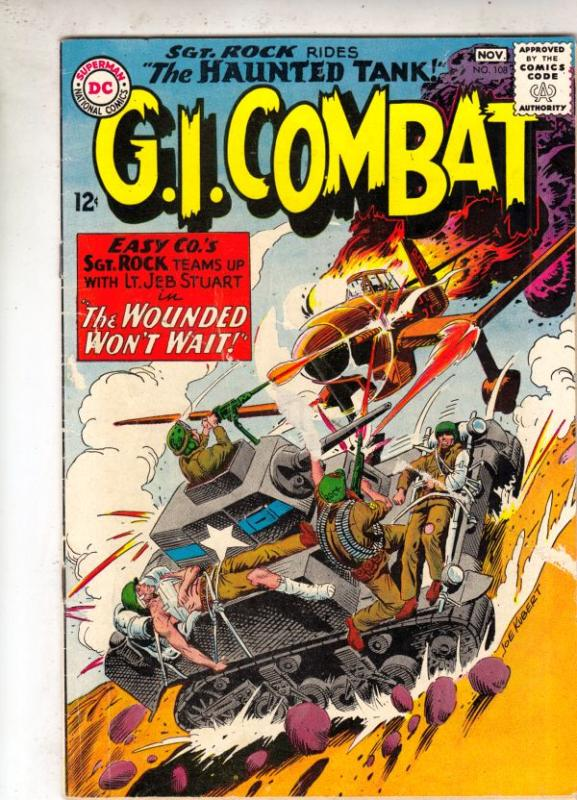 G.I. Combat #108 (Nov-64) VG/FN Mid-Grade The Haunted Tank