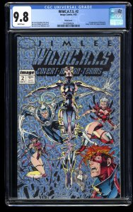 WildC.A.T.S. #2 CGC NM/M 9.8 White Pages