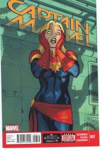 Captain Marvel 7  (2014 series)  9.0 (our highest grade)