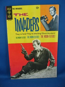 THE INVADERS 3 Fine VF Photo Cover 1968