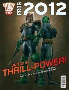 2000 AD Magazine Prog 2012 Judge Dredd Christmas Annual NM.