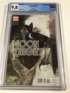 Moon Knight 1 2nd Second Prt Print Variant Cgc 9.8 2011 Marvel