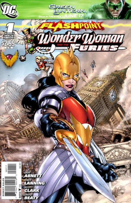 Flashpoint: Wonder Woman and the Furies #1 VF; DC | combined shipping available