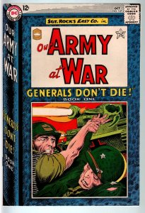 OUR ARMY AT WAR #147 1964-DC WAR COMIC-SGT. ROCK-VF VF