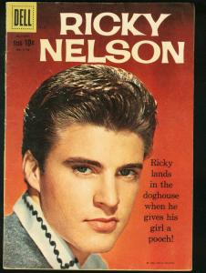 RICKY NELSON- FOUR COLOR COMICS #1115-PORTRAIT PHOTO COVER- FN