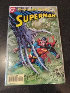 ​SUPERMAN #207 JIM LEE NM