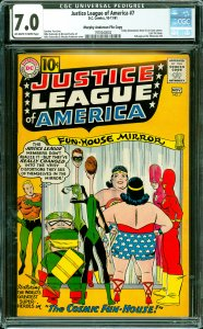Justice League of America #7 CGC Graded 7.0 Kathy (Batwoman) Kane & Lois Lane...