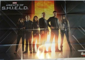 AGENTS OF SHIELD Promo Poster, 24 x 36, 2013, MARVEL, Unused 320