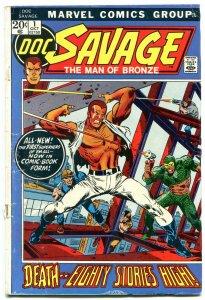 Doc Savage #1 1972- Hot Bronze Age Book- Marvel G
