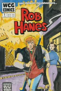 Rob Hanes #1 VF/NM; WCG   save on shipping - details inside