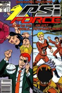Psi-Force #31 (Newsstand) FN; Marvel | save on shipping - details inside