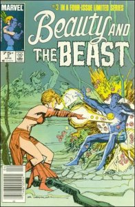 Marvel BEAUTY AND THE BEAST #3 VF