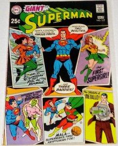 Superman #217 (F/VF) 1969 Giant-Size Silver Age DC ID#71Q
