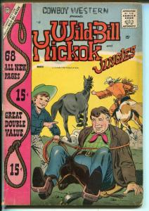 Cowboy Western #67 1958-Charlton-Wild Bill Hickok-Al Williamson-Maneely-VG