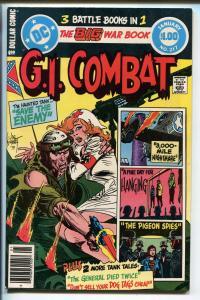 G.I. COMBAT #217 1980-DC-THE HAUNTED TANK-JOE KUBERT-GLANZMAN-HANGING- nm-