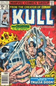 Kull the Destroyer #28 FN; Marvel | save on shipping - details inside