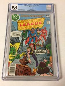 Justice League of America 158 Cgc 9.4 White Pages