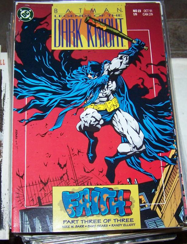 Batman : Legends of the Dark Knight #23 (Oct 1991, DC) faith pt 3