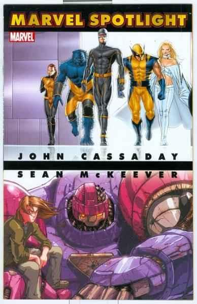 Marvel Spotlight: John Cassady/Sean McKeever #1, NM + (Stock photo)