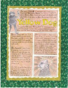 YELLOW DOG- John Thompson Special Limited edition no.6/50, signed w/sketches