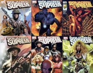 SQUADRON SUPREME (2008) 1-6  Power To The People