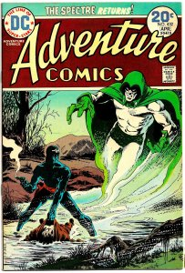 ADVENTURE COMICS #432 (Mar1974) 7.0 FN/VF • 2nd APARO SPECTRE - Grisly Deaths!