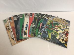 Green Arrow 31-40 Lot Set Run Vf-Nm Very Fine-Near Mint