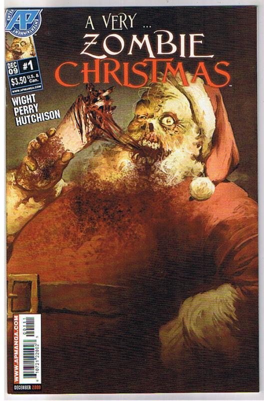 A VERY ZOMBIE CHRISTMAS #1, NM, Xmas, 2009, undead, more Horror in store