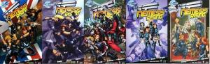 VSS NEMESIS RISING (2007 BLUEWATER) 1-5  COMPLETE! COMICS BOOK